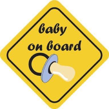 Pegatina bebé a bordo