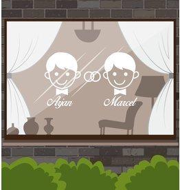 Aniversario - El hombre y el hombre con los anillos