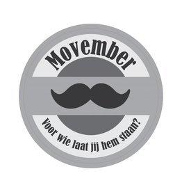 Pegatina Movember