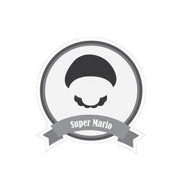 Pegatina bigotes famosos Mario