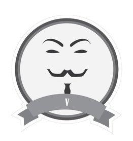 Pegatina bigotes famosos V