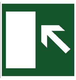 Ruta de escape izquierda