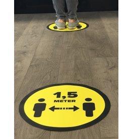 Almacene la distancia de la pegatina del piso 1.5 metros (desde 1 pieza)