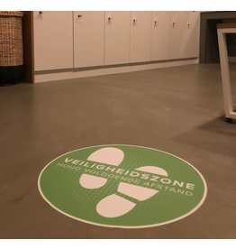 Cubierta del piso - Zona de seguridad de vinilo